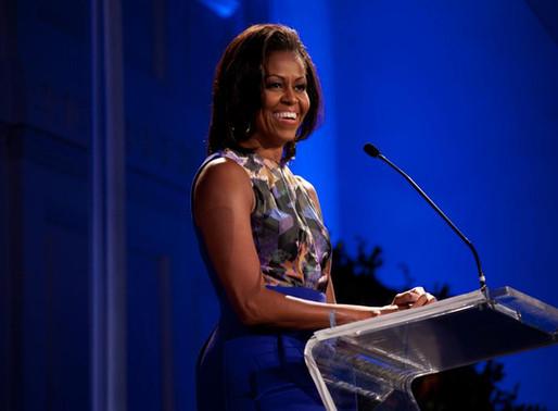 """Michelle Obama """"deprimida"""" por cuarentena"""
