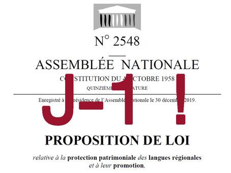 MOBILIZACION PER LA PROPOSICION DE LEI 2548 - SANS ACTION, PAS DE PROPOSITION