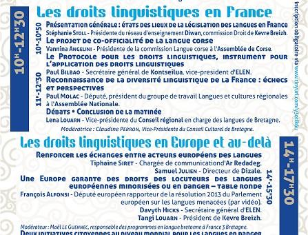 Rencontres européennes sur les droits linguistiques