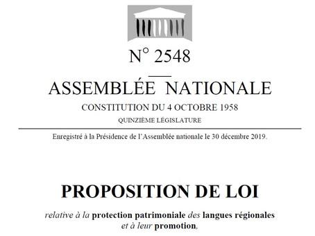 Los deputats que deven sostiéner la proposicion de lei n°2548 - Soutien des députés occitans !