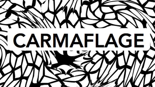 CARMAFLAGE Classic Pant in Black & White