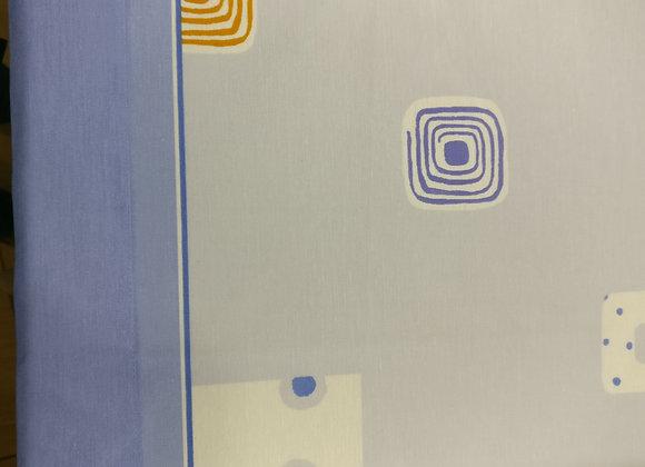 Juego Sábanas Azules- 3 piezas - Cama 80