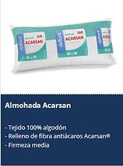 Textil Sánchez Barcelona Almohadas Velfont Acarsan