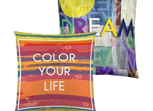 Funda ColorLife reversible 50 x 50