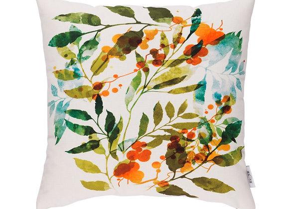 Funda Cojín Floral 45 x 45 cm