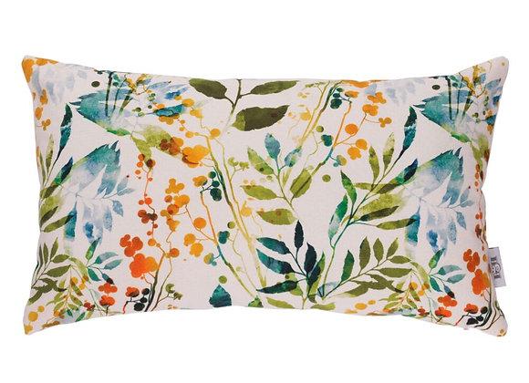 Funda Cojín Floral 30 x 50 cm