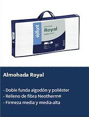 Textil Sánchez Barcelona Almohadas Velfont Royal