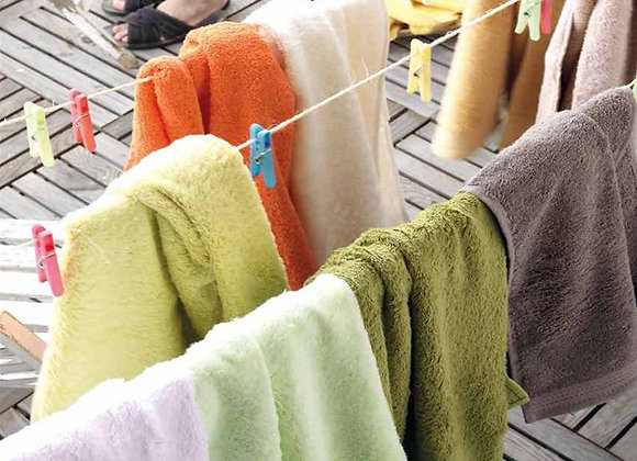 AJUAR RIZO - Alfombra de Baño 720 gr. 100% algodón Peinado 50 x 70cm