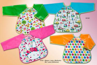 Baberos camiseta plastificados - Textil Sánchez
