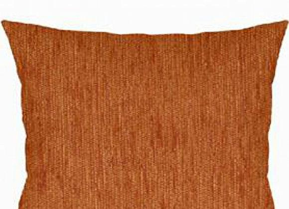 Funda Cojín Chenilla Naranja 45x45