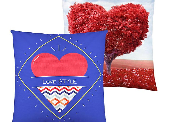 Funda Cojín Love reversible 50 x 50cm