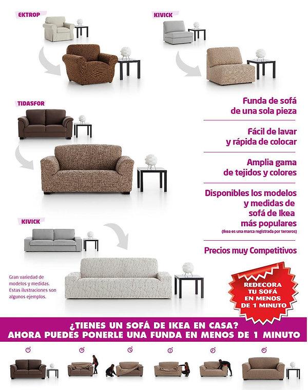 Textil Sánchez Barcelona Funda Sofá IKEA