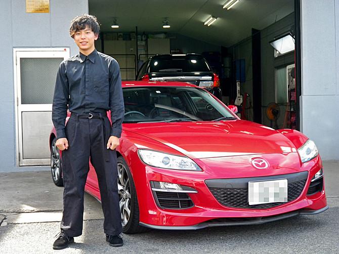 K様RX-8納車!!