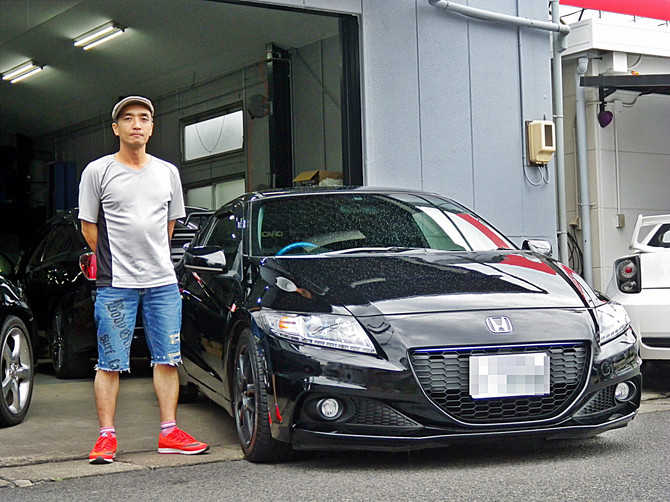 I様CR-Z納車!!