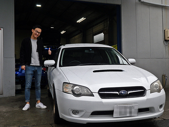 U様レガシィツーリングワゴン納車!!