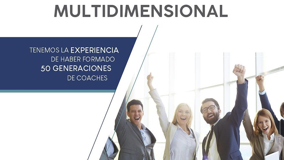 Certificación Internacional en Coaching Multidimensional