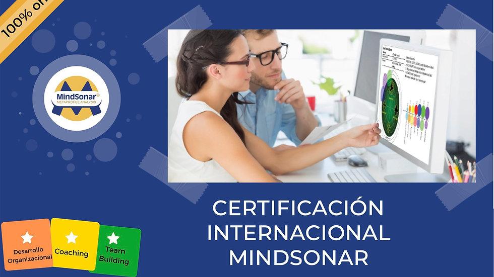 Certificación Internacional MindSonar Professional