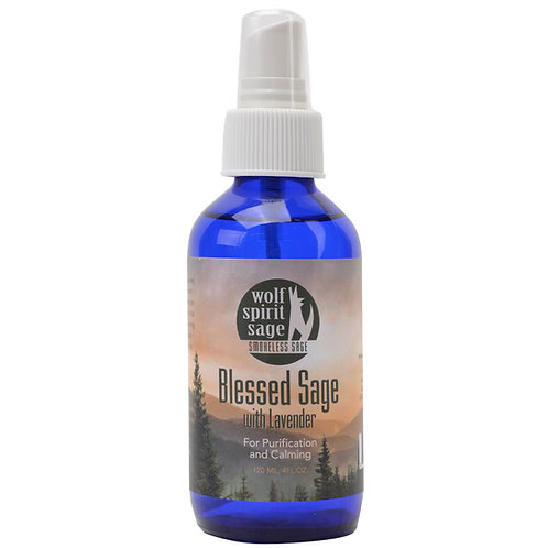 Blessed Sage with Lavender Spray