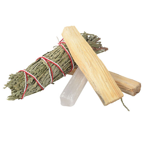 PEACE, HARMONY AND CLARITY SMUDGE KIT
