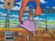 Bush Ballet, oil and acrylic on canvas,