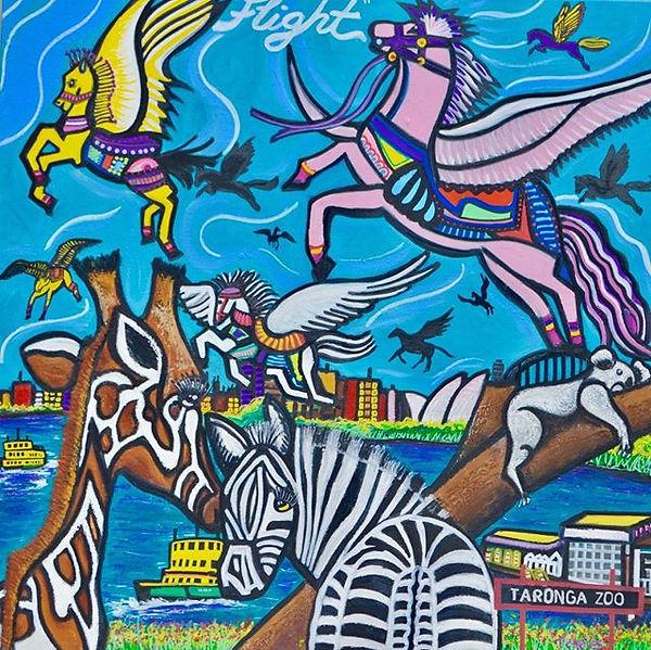 'Equus' Art exhibition  at Frances Keevi