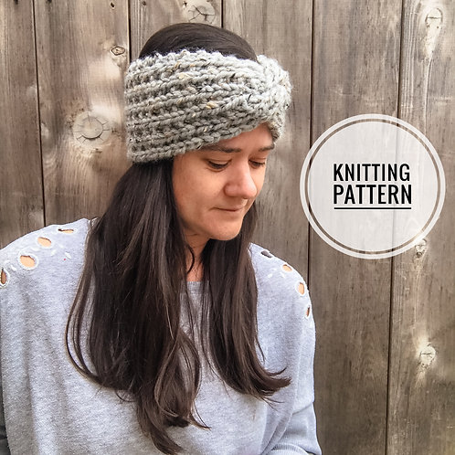 BRG Ear Warmers Knitting Pattern