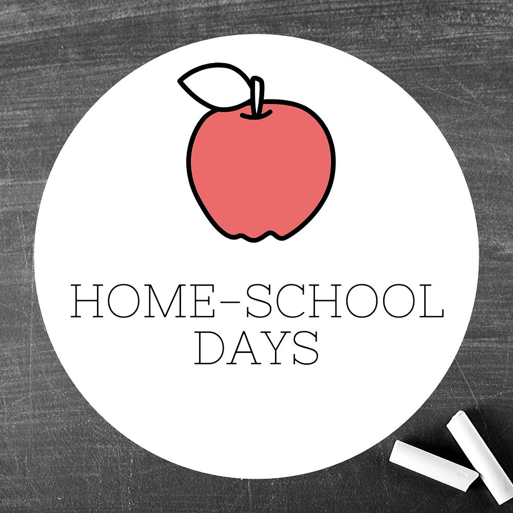 homeschool-homeschool days-apple-school-chalk