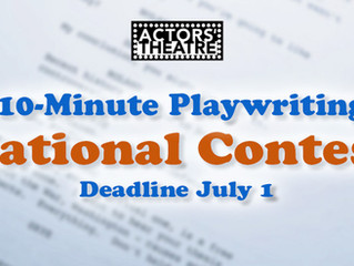 Have YOUR short play produced at Actors' Theatre!