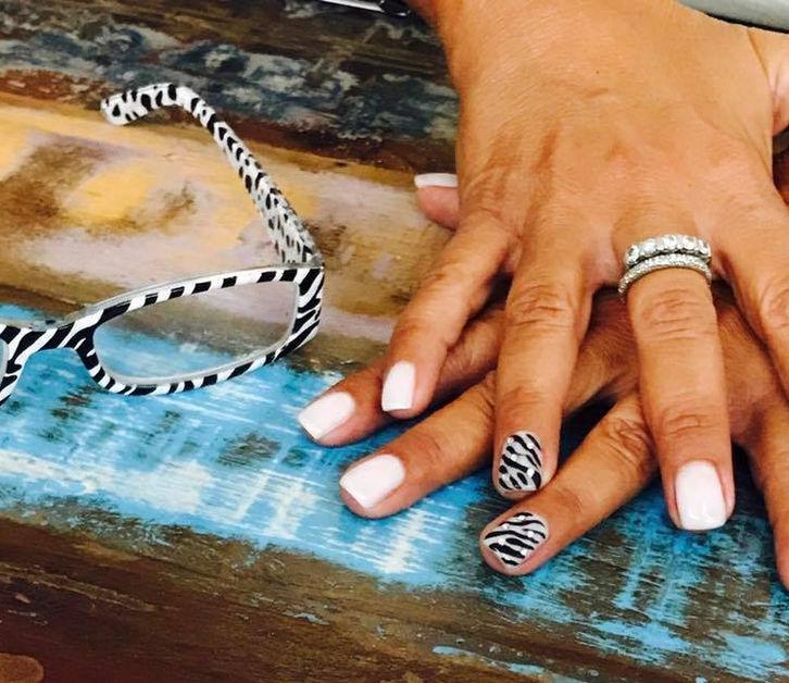 Trova le Differenze! Zebra Nails
