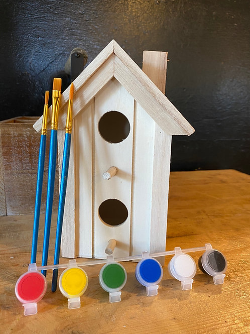 Paint Me Panel Birdhouse