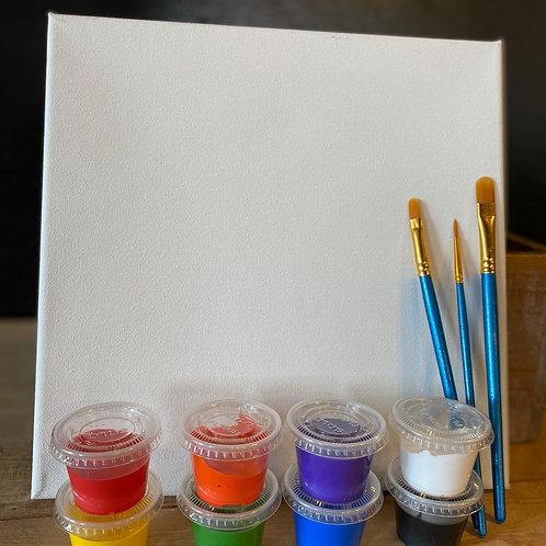 Paint Me 10x10 Canvas