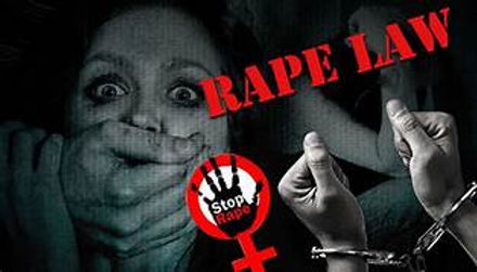PROGESS AND PLIGHT OF THE RAPE LAWS