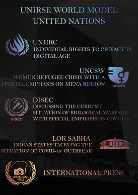 UNIRSE WORLD MODEL UNITED NATIONS DIGITAL CONFERENCE