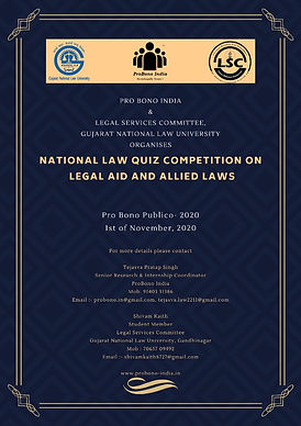 National Law Quiz Competition on Legal Aid and Allied Laws
