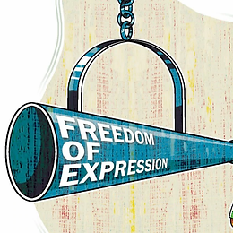 When should the journalists' rights for freedom of expression be restricted?