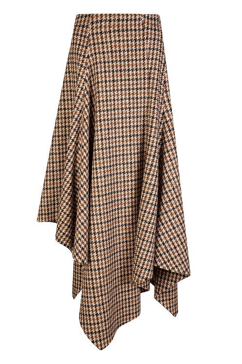 Oak Tweed Handkerchief Skirt