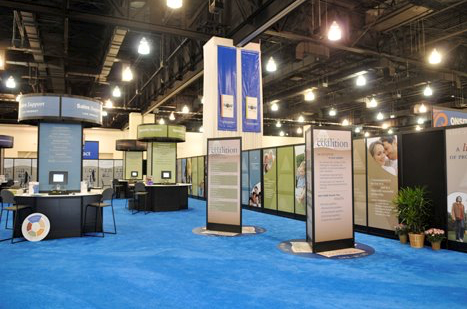 Northwestern Mutual Long Term Care booth