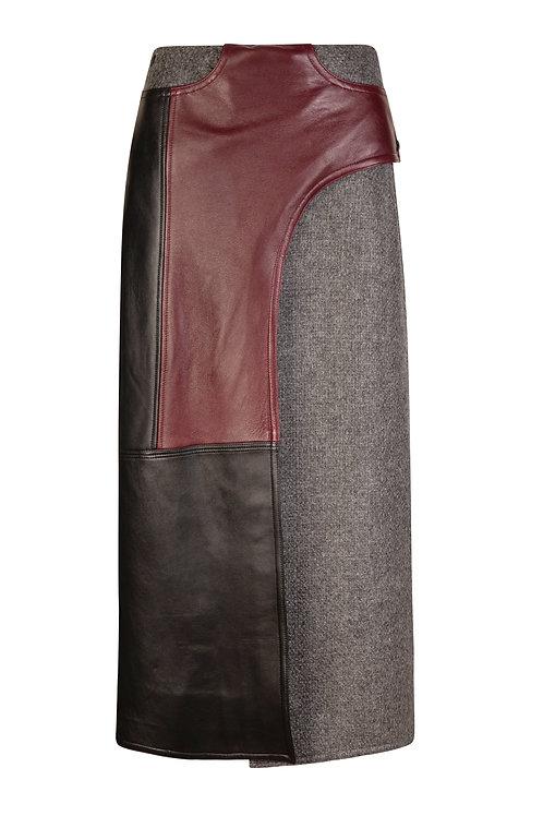 Alder Wrap Western Skirt