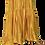 Thumbnail: Spaghetti Strap Moire Citrine Satin Dress