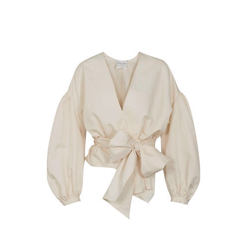 Chic Twill Blouse