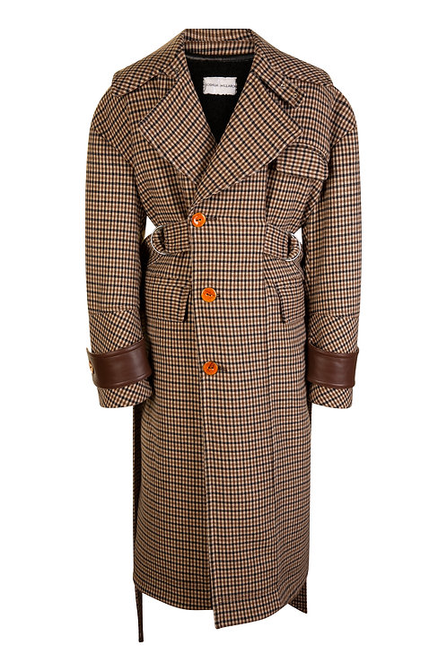 Coopworth Tweed Shepards Coat
