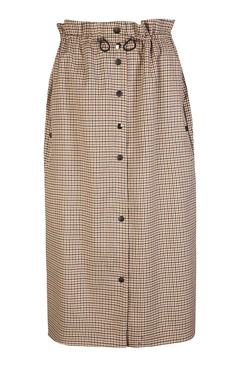 Halfpenny Tweed Drawstring Skirt