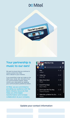 Targeted Email Concept & Design