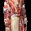 Thumbnail: Mulit-Color Wrap Blouse