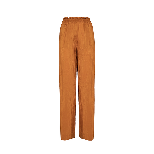 Habotai Silk Wide Leg Pant
