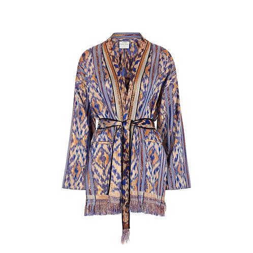 Kimono Style Jacquard Jacket