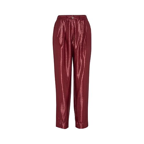 Lurex Jacquard Trouser