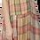 Thumbnail: Plaid Silk Organza Slip Dress