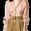 Thumbnail: Mozaik Silk Button-Up Blouse