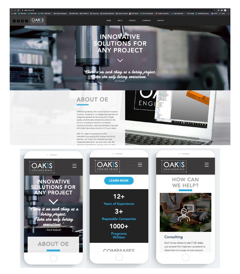 Client: OAKIS Engineering